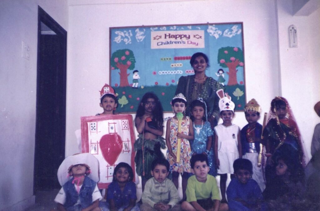 One of earlier Children's day