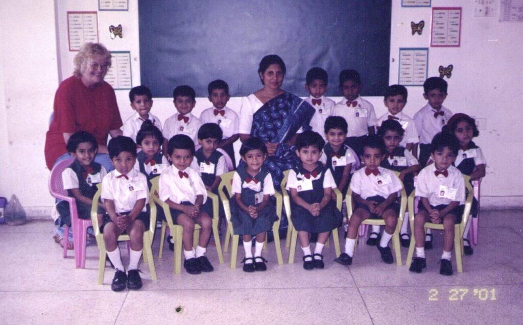 Nursery batch of 2001